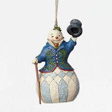 Jim Shore Heartwood Creek / Victorian Snowman Ornament Mib #4047683 c2015