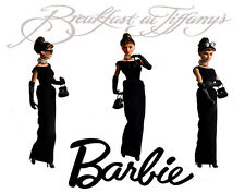 Audrey Hepburn Barbie Breakfast At Tiffanys Canvas Art 16 x 20 #2883