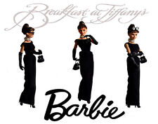 Audrey Hepburn Barbie Breakfast At Tiffanys Canvas Art Print 16 x 20 #2883