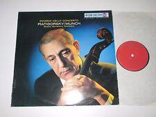 LP/DVORAK CELLO CONCERTO/PIATIGORSKY/MUNCH/RCA LSC-2490 Stereo