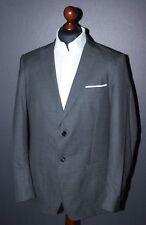 Gant mens grey suit blazer jacket Size 52