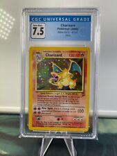 2000 Pokemon Base Set 2 Charizard CGC 7.5 Holo Rare 4/130 3789846018