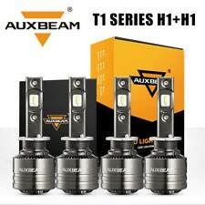 4pcs AUXBEAM H1 LED Headlight Kit High Low Canbus Bulbs for Acura RSX 2002-2004
