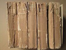 FOURCROY : ELEMENS D'HISTOIRE NATURELLE ET DE CHIMIE, 1789. 5 vol., 9 tableaux.