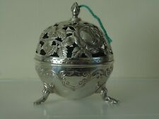 ANTIQUE SOLID SILVER STRING HOLDER