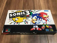 Sonic The Hedgehog 3 VHS Sega History Video Mega drive Collector Limited Rare