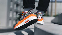 NIKE AIR MAX 1 Men's Just Do It Pack Orange UK 8.5 US 9.5 EUR 43