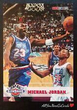 Michael Jordan 1993 SkyBox NBA Hoops All-Star Weekend #257 Chicago Bulls Card