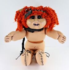 Reborn Cabbage Patch Kid Halloween Horror, Gothic, Zombie Red Head Doll