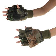 Fishing Gloves Converter Hunting Mittens Water Resistant Flip-Mitt Camouplage