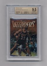 ALONZO MOURNING 1997-98 TOPPS FINEST REFRACTOR #192 BGS 9.5 GEM MINT
