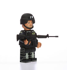 SWAT Minifigure Police Sheriff Highly Detailed Custom Building Military Soldier