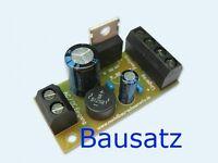 S456 Festspannungsregler 5V DC Bausatz V1.0 ideal für 6V Straßenlampen
