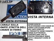 Guscio cover scocca per chiave telecomando CITROEN C3 C4 C8 con porta batteria