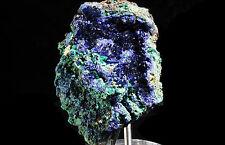 1.1lb Azurite Crystal & Malachite From Jiangxi, CHINA!