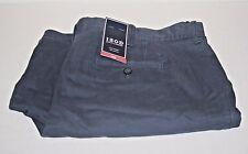 Izod Men's 42  Blue Flat Front Shorts 100% Cotton with lablel