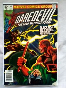 Daredevil 168 (1981) Origin and 1st app of Elektra, cents