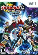 Beyblade: Metal Fusion - Battle Fortress (Nintendo Wii, 2010)