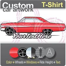 Custom T-Shirt 1964 Galaxie 500 XL 2 door coupe hardtop not affiliated with ford