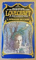 Lovecraft: A Biography by L Sprague De Camp (Ballantine paperback)