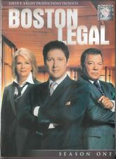 Boston Legal - Season 1 (DVD, 2009, 5-Disc Set) Brand New Sealed!