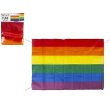 "33"" x 23""  Rainbow Pride Hanging Flag Gay Lesbian LGBT Party Parade Festival"