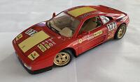 1/18 1990 Vintage Bburago Burago Ferrari 348 Evoluzione GT Lightweight Very Rare