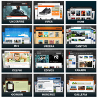 1250 WP PLR Themes + 9000 Unrestricted PLR Articles + 150 eBooks Colection no cd