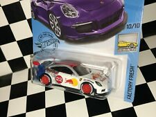"Hot Wheels Porsche 911 GT3 RS - ""RED BULL RACING"" REAL RIDERS custom"