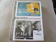 "COFFRET 2 DVD NEUF ""LA MARIE DU PORT Jean Gabin / 1er MAI Yves Montand"""