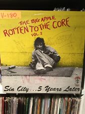 Various- The Big Apple - Rotten To The Core Vol 2 VG Slime Puppies,the Mob,ism