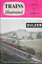 TRAINS ILLUSTRATED Jun1961 SR Transition Kent * BR Dieselisation * Derby Midland