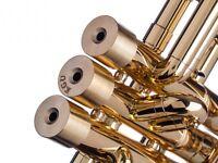 KGUBrass Trumpet Heavy Bottom Caps for Yamaha all Model Raw Brass