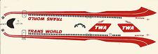 TWA DC-9-80 1:200 SCALE DECAL