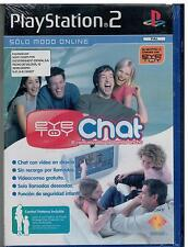 Eye Toy : Chat (Solo modo Online) (PS2 Nuevo)