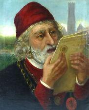 Seltenes Gemälde Portrait Kardinal ? Bild Ölbild 19 Jh.  Sammlungsauflösung