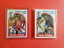 1989-90 Hoops All Star Team Lot (24 Cards) Michael Jordan Magic Johnson MINT SET