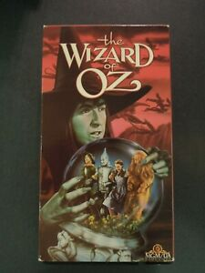 THE WIZARD OF OZ ON VHS