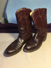 Justin Boots Ropers Women's Size 7