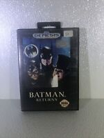 Batman Returns (Sega Genesis, 1992)  -w/poster
