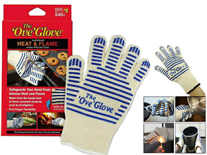 BBQ Oven Gloves Single/Pair Kitchen Heat Proof Silicon Mitts Hot Surface Handler