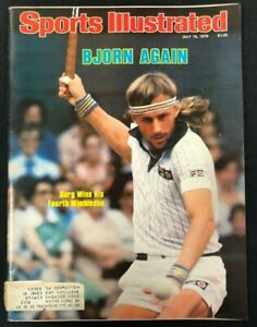 1979 JULY 16 SPORTS ILLUSTRATED MAGAZINE *TENNIS/BJORN BORG WINS* CS5