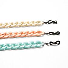 Acryl Brillenkette mit flexiblen Endschlaufen Brillenschnur Band Kordel