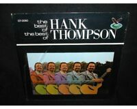 Hank Thompson vinyl LP The Best Of~Sealed LP~Gusto Records GT-0060
