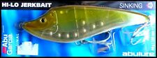 VINTAGE ABU HI-LO JERKBAIT SINKING 15 cm 68 g (2-2/5 oz) Brown Ayu colour