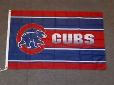New listing New Chicago Cubs 3' X 5' Flag Free Shipping!