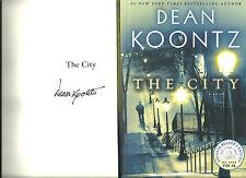 SIGNED PROOF - DEAN KOONTZ - THE CITY - 2014 UNREAD