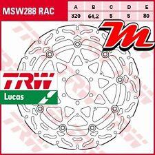 Disque de frein Avant TRW Lucas MSW 288 RAC BMW HP4 1000 RR Race-ABS K10 2013-