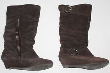 Womens Brown Boots Naturalizer SIZE 6 7 Mid Calf