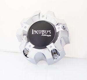 INCUBUS WX01 -5x150 LG0805-09 CHROME CENTER CAP (WX01C & DECAL-INC)